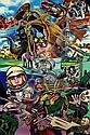 Gudmundur ERRO (né en 1932) SPACE PORTRAITS, 1973 Acrylique sur toile,  Erro, Click for value