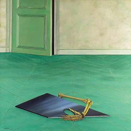 Antonio RECALCATI (né en 1938) ATELIER 1976-1977 Huile sur toile