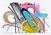 SMASH137 (né en 1979) LUNA PARK, 2011 Peinture aérosol, encre et acrylique sur papier,  Smash137, Click for value