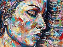 David WALKER (né en 1976) UNKNOWN, 2013 Peinture aérosol sur toile