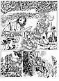 CRAENHALS François (1926 - 2004) CHEVALIER ARDENT Encre de Chine pour la planche 24 de l'album «Les cavaliers de l'apocalypse», François Craenhals, Click for value