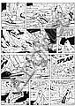 TILLIEUX Maurice (1921 - 1978) GIL JOURDAN Encre de Chine pour la planche 11 de l'album «Les moines rouges», Maurice Tillieux, Click for value