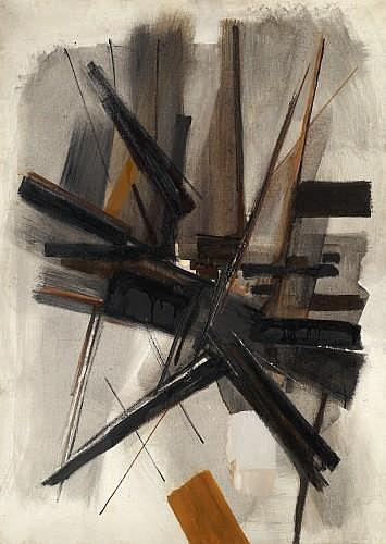Huguette ARTHUR BERTRAND (née en 1922) NENNI, 1959 Huile sur toile