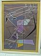 Nicolaas WARB (1906-1956) ETUDE POUR CHANT D'AUTOMNE, N°185, 1950 Gouache sur papier, Sophia Elisabeth Warburg, Click for value