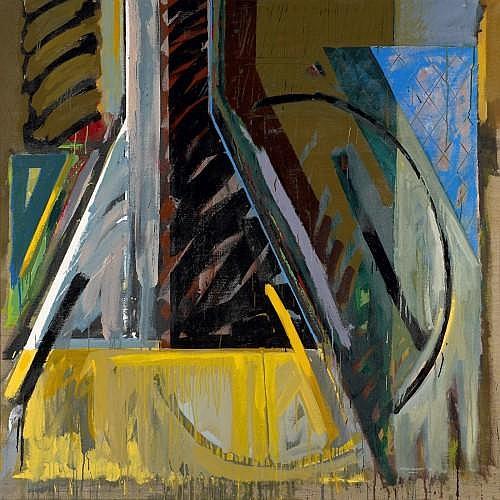 GERARD TITUS CARMEL (Né en 1942) INTERIEURS-PEINTURE N°28, 1988