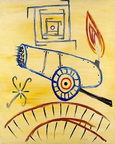 Ferran GARCIA-SEVILLA (né en 1949) CIEN 63, 1987 Huile sur toile