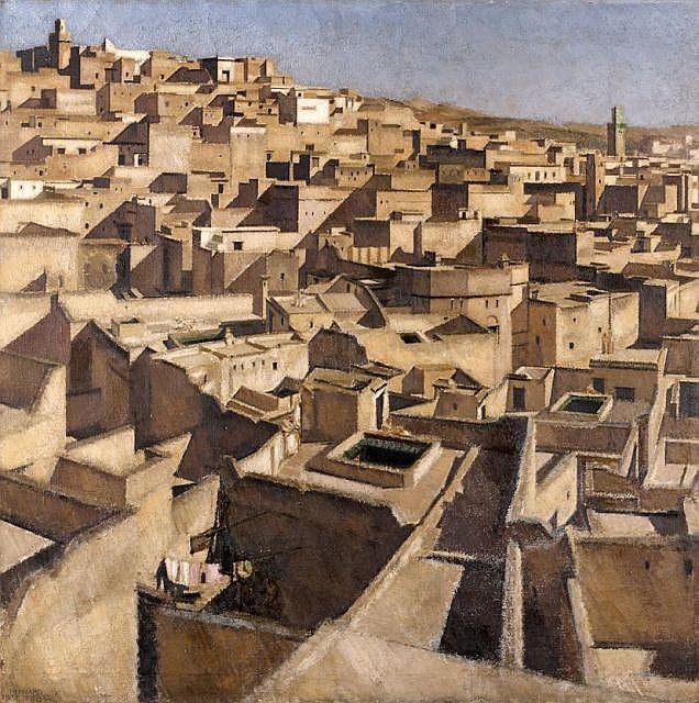 Bernard BOUTET de MONVEL (Paris, 1881 - Iles de San-Miguel, 1949) Fez (9 heures), 1918