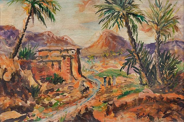 Henri PONTOY (Reims, 1888 - Reims, 1968) Oued