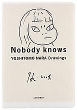 Yoshitomo NARA (Né en 1959) SANS TITRE - 2004 Marqueur noir sur page de catalogue