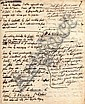 Georges CUVIER MANUSCRITS AUTOGRAPHES Du grand zoologiste et paléontologiste (1769-1832). 5 pages ..., ? (1835) Constant, Click for value