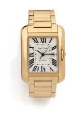 CARTIER  Tank Anglaise, ref. 3509, n° 74292SX