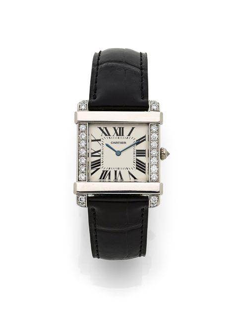 CARTIER  Tank Chinoise, ref. 2685, n° 18644CE