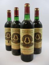 11 bouteilles CHÂTEAU ANGELUS 1976 GCC Saint Emilion (dont 1 base goulot