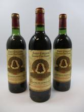 12 bouteilles CHÂTEAU ANGELUS 1980 GCC Saint Emilion (dont 5 base goulot