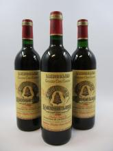 12 bouteilles CHÂTEAU ANGELUS 1986 GCC Saint Emilion (dont 4 base goulot) (Cave 22)