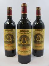 6 bouteilles CHÂTEAU ANGELUS 2000 1er GCC (B) Saint Emilion  (Cave 4)