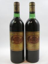 10 bouteilles CHÂTEAU BATAILLEY 1981 5è GC Pauillac (5 légèrement bas