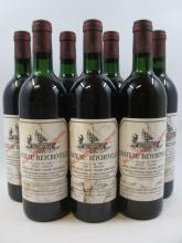 7 bouteilles CHÂTEAU BEYCHEVELLE 1985 4è GC Saint Julien (4 base goulot