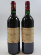 11 bouteilles CHÂTEAU BRANAIRE DUCRU 1988 4è GC Saint Julien (6 base goulot