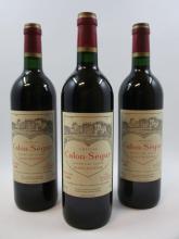 6 bouteilles CHÂTEAU CALON SEGUR 1996 3è GC Saint Estèphe  (Cave 4)