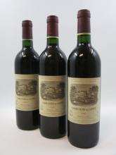 6 bouteilles CARRUADES DE LAFITE 1996 Pauillac  (Cave 4)