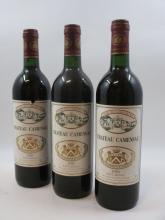 11 bouteilles CHÂTEAU CAMENSAC 1990 5è GC Haut Medoc (étiquettes fanées)