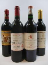 11 bouteilles 2 bts : CHÂTEAU LYNCH BAGES 1995 5è GC Pauillac
