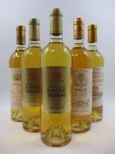 5 bouteilles 1 bt : CHÂTEAU RAYNE VIGNEAU 2004 1er cru Sauternes