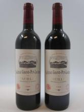 5 bouteilles CHÂTEAU GRAND PUY LACOSTE 1996 5è GC Pauillac  (Cave 11)