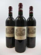 11 bouteilles CHÂTEAU LAFITE ROTHSCHILD 1998 1er GC Pauillac (étiquettes fanées