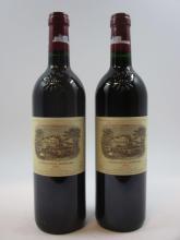 9 bouteilles CHÂTEAU LAFITE ROTHSCHILD 2001 1er GC Pauillac  (Cave 11)