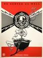 Shepard FAIREY (OBEY GIANT) (né en 1970) DISPOSABLE HEROES, 2012 Sérigraphie en couleurs