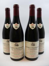 4 bouteilles 2 bts : GEVREY CHAMBERTIN 2007 1er cru Les Champonnets. Jean-Michel Guillon