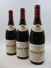6 bouteilles BONNES MARES 2002 Grand Cru