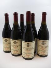 6 bouteilles CHAMBERTIN  1994 Grand Cru