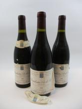 7 bouteilles CHAMBERTIN CLOS DE BEZE 1989 Grand Cru