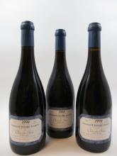 3 bouteilles CHAMBERTIN CLOS DE BEZE 1998 Grand Cru