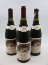 3 bouteilles CLOS DE LA ROCHE 1994 Grand Cru