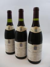 9 bouteilles CLOS SAINT DENIS 1988 Grand Cru
