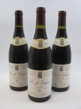 7 bouteilles CLOS VOUGEOT 1989 Grand Cru