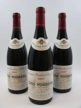 6 bouteilles CLOS VOUGEOT 2005 Grand Cru