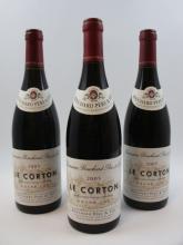 6 bouteilles CORTON 2005 Grand Cru