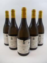 5 bouteilles BIENVENUES BATARD MONTRACHET 1996 Grand Cru