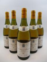 5 bouteilles CRIOTS BATARD MONTRACHET 1995 Grand Cru