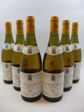 6 bouteilles CRIOTS BATARD MONTRACHET 1995 Grand Cru