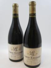 5 bouteilles  CORTON RENARDES 2007 Grand Cru. Lucien Le Moine (dont 1 étiquette tachée par l''humidité)   (Cave 26)