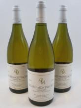 3 bouteilles BATARD MONTRACHET 2004 Grand Cru
