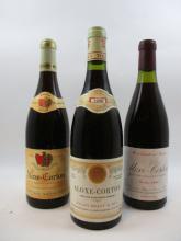 8 bouteilles 6 bts : ALOXE CORTON 2004 Domaine Capitain Gagnerot