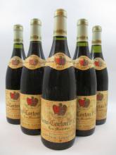 5 bouteilles ALOXE CORTON 2003 1er cru Les Moutottes