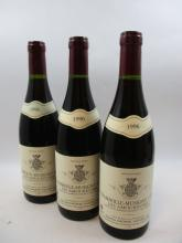 3 bouteilles CHAMBOLLE MUSIGNY 1996 1er cru les Amoureuses